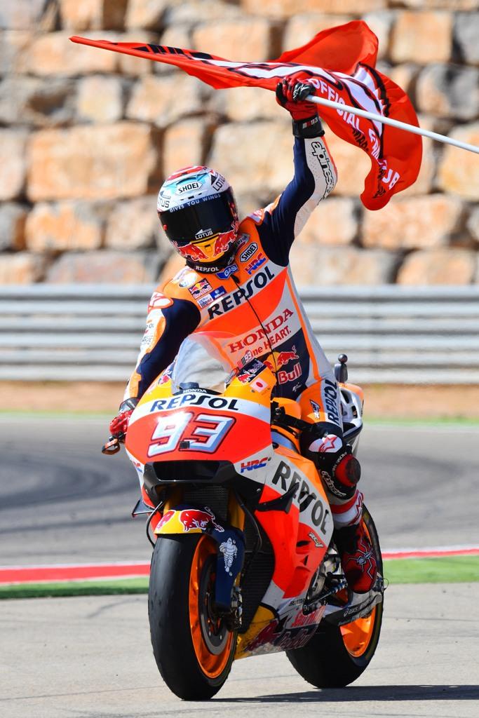 Marc Maequez, motogp 2016, Aragon