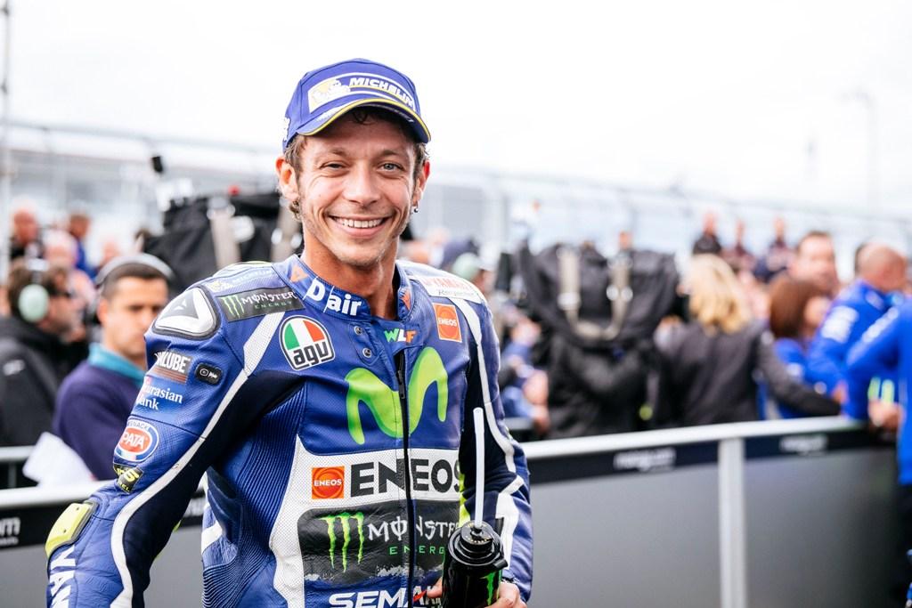 250 presenze in motogp per Rossi