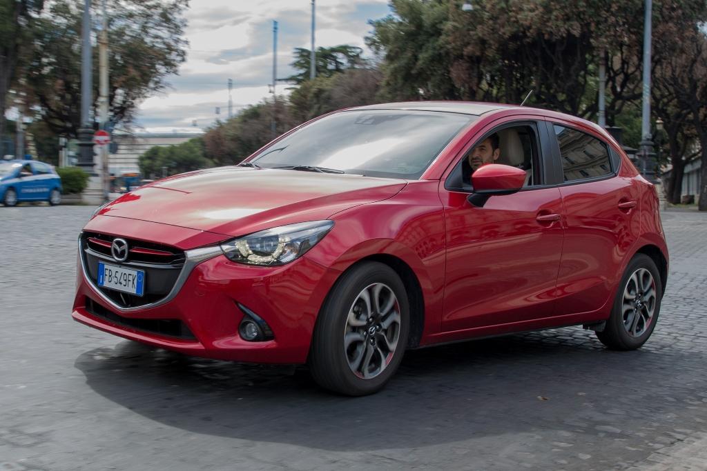 Mazda 2 nella sua versione più completa