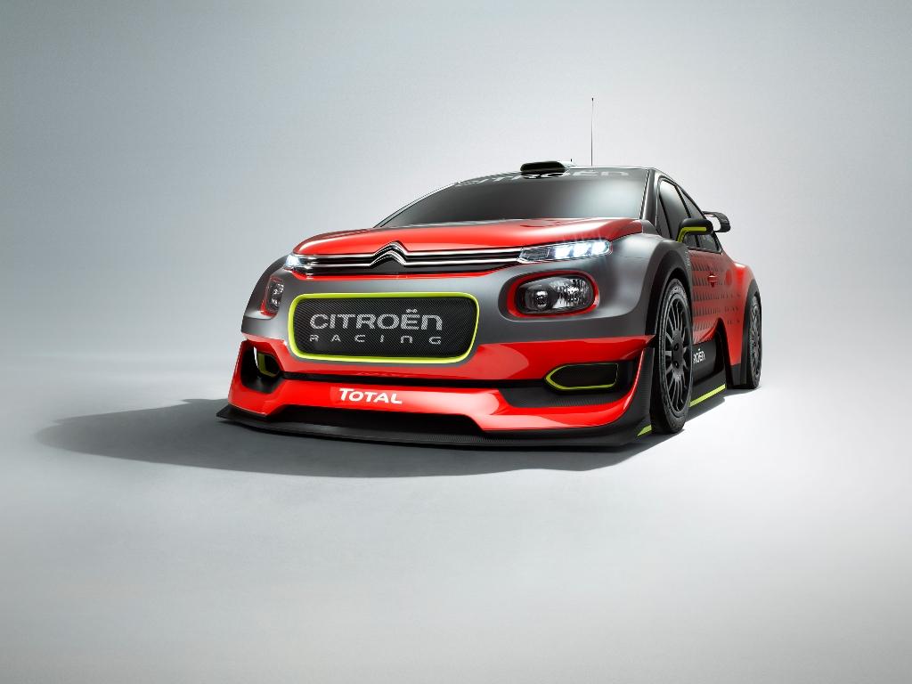 WRC 2017 Citroen, il nuovo frontale della new C3