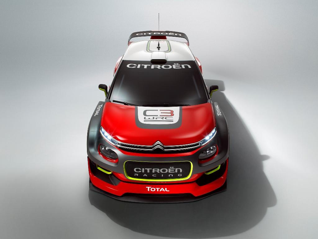 WRC 2017, la nuova C3 che nasce per i rally