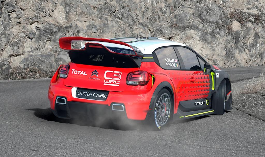 Citroen WRC 2017
