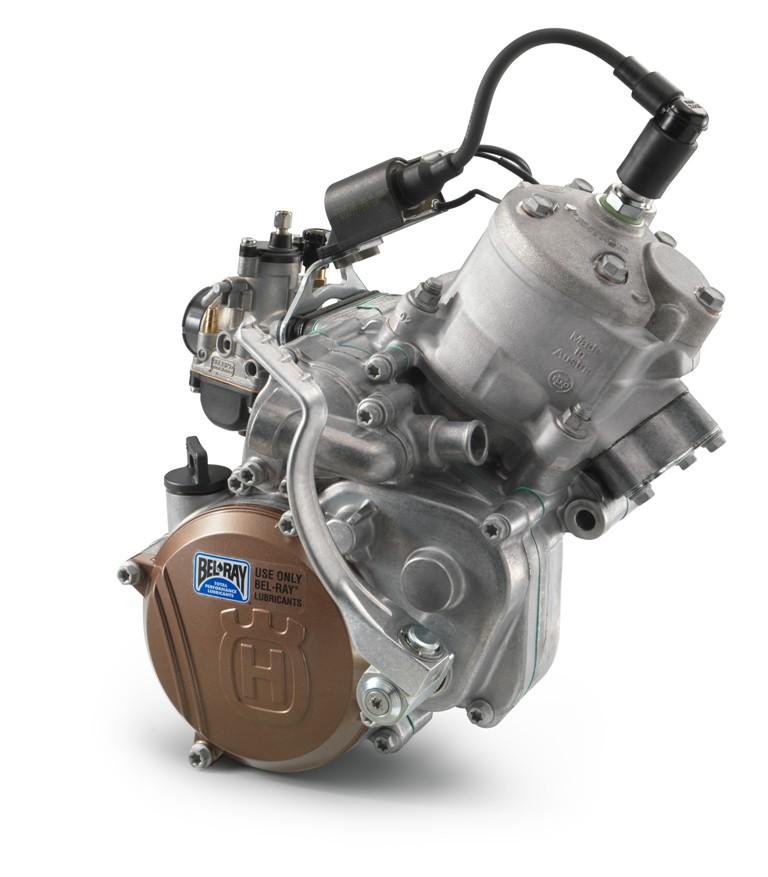 Husqvarna TC 50, il motore disponibile anche in versione depotenziata a 5,5 Cv