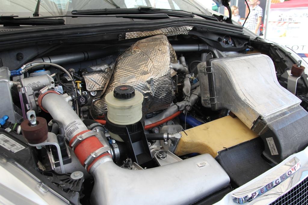 il motore della 208 GTi T16 da quasi 290 cv