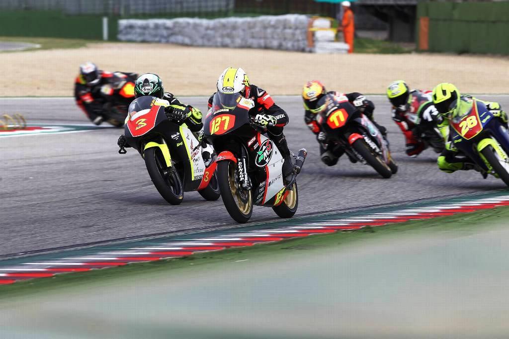 Thomas Rossi e Fusco protgonisti in 125 cc RMU Moto