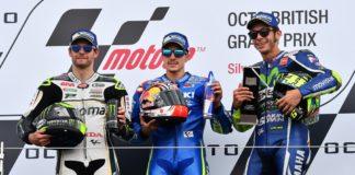 il podio di Silverstone