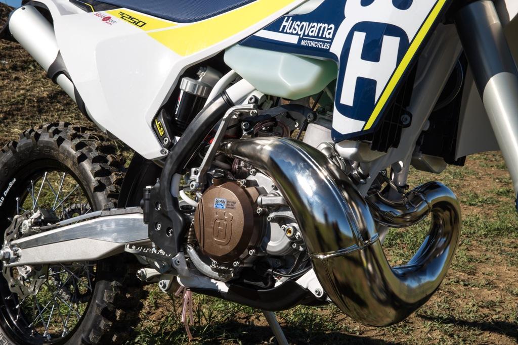 il motore della TC250 2017, più compatto per la nuova moto