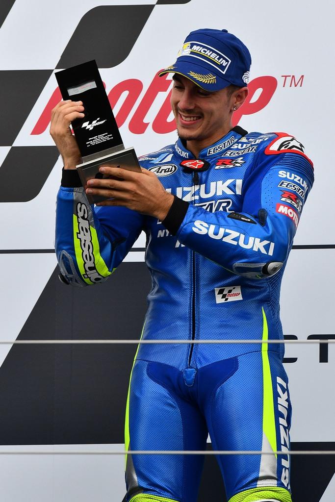 primo podio per la Suzuki e Vinales