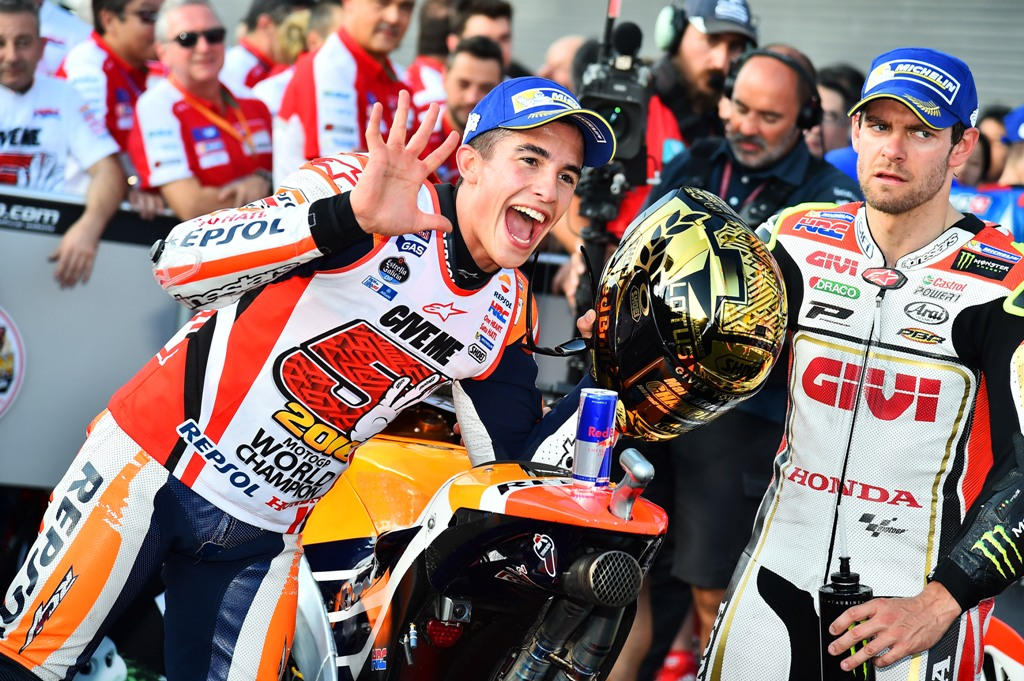 marc marquz, honda motogp 2016