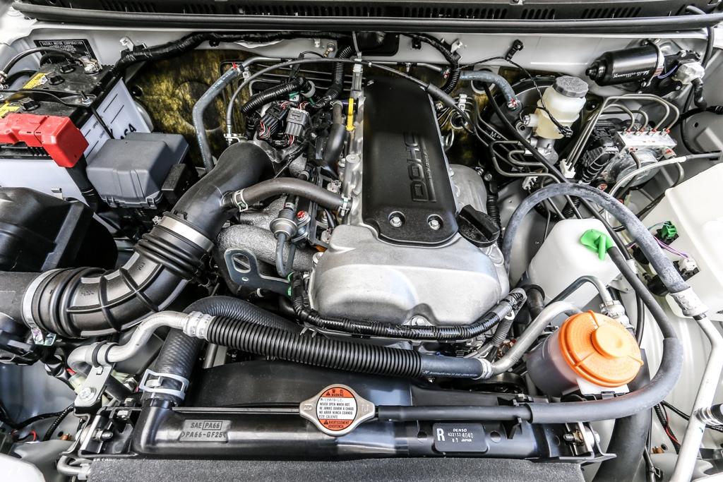 il quattro cilindri Suzuki da 85 CV che equipaggia JIMNY