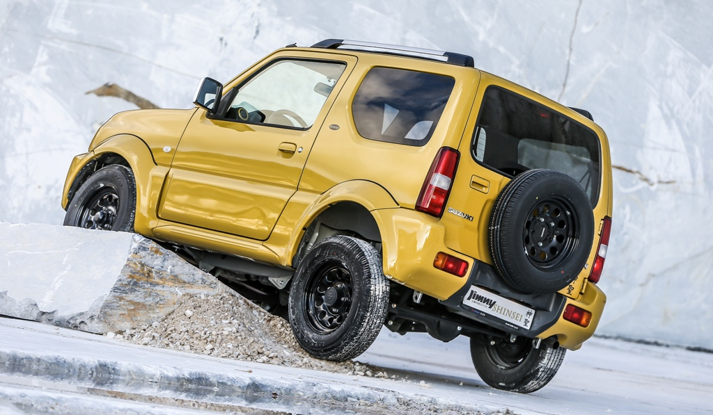 JIMNY SHINSEI la piccola e grande 4x4 Suzuki
