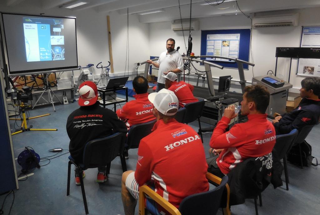 i piloti HRC Rally si preparano alla prossima Dakar