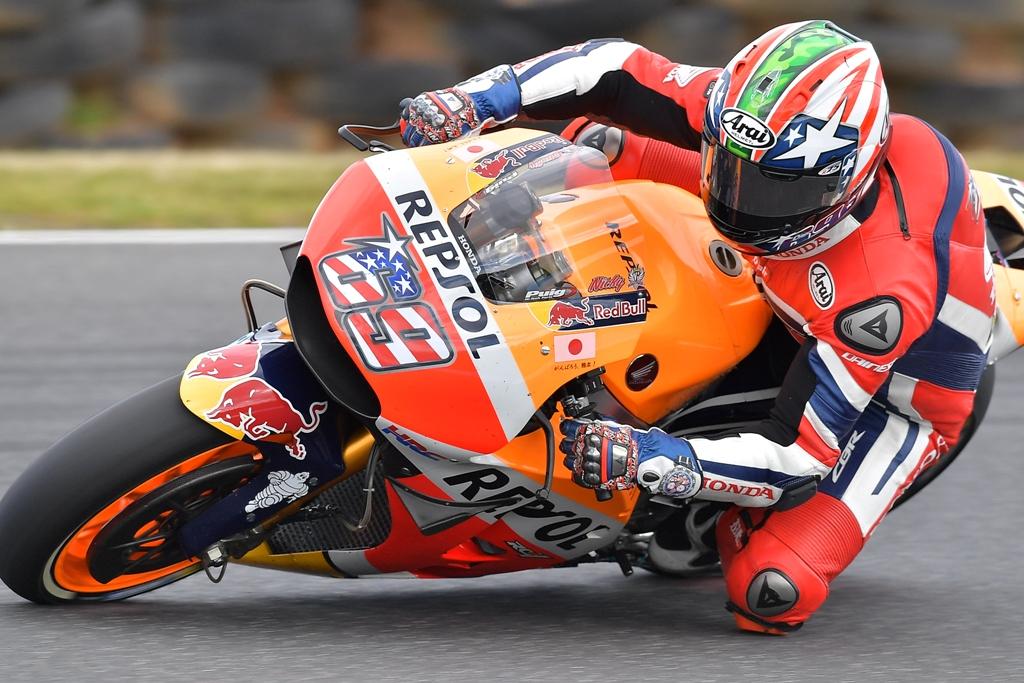 nicky hayden, motogp 2016 australia 2016