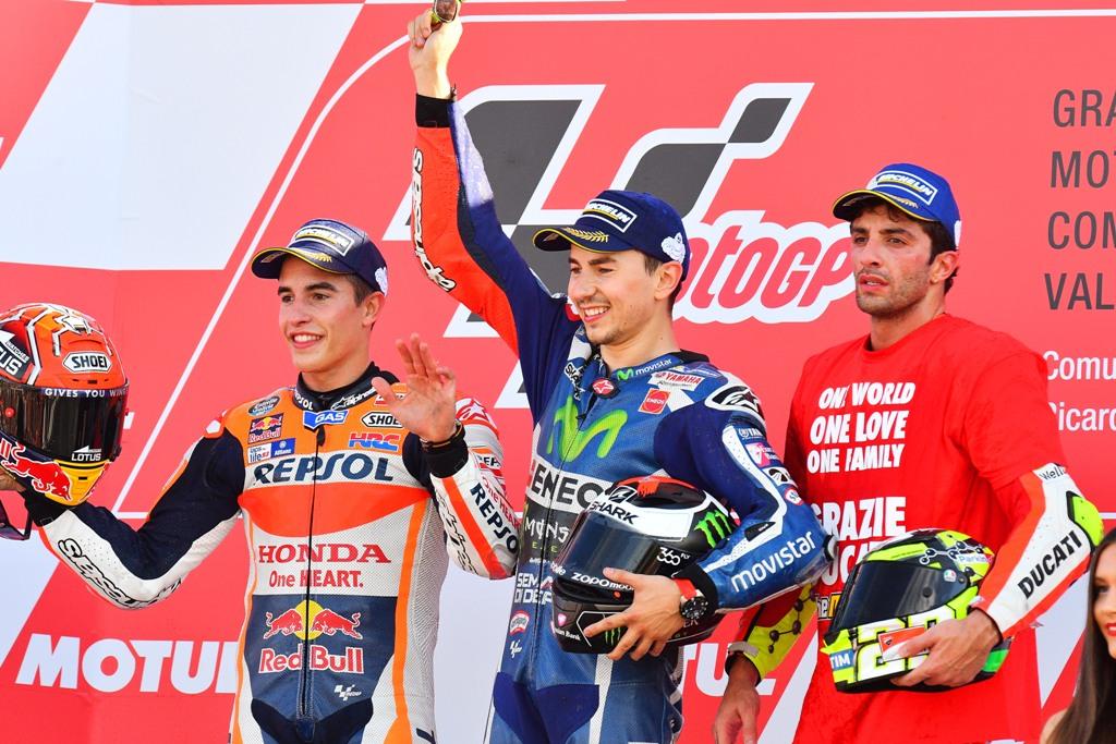 jorge lorenzo vince a valencia l'ultimo GP con Yamaha