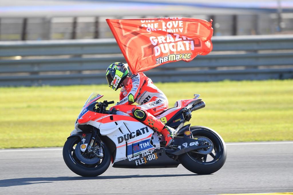 andrea iannone lascia la Ducati per la Suzuki