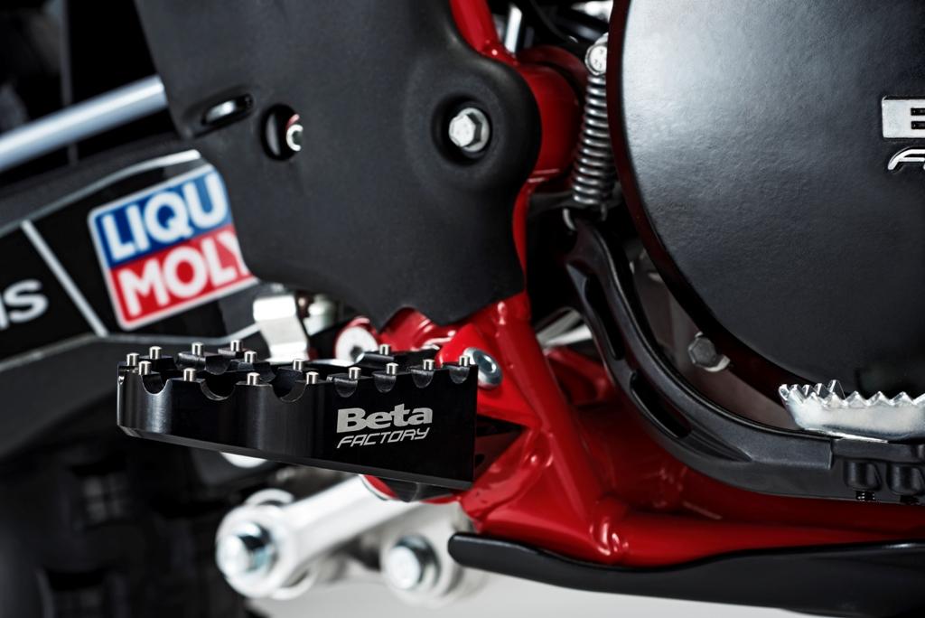 Beta RR Racing 2017, le nuove pedane