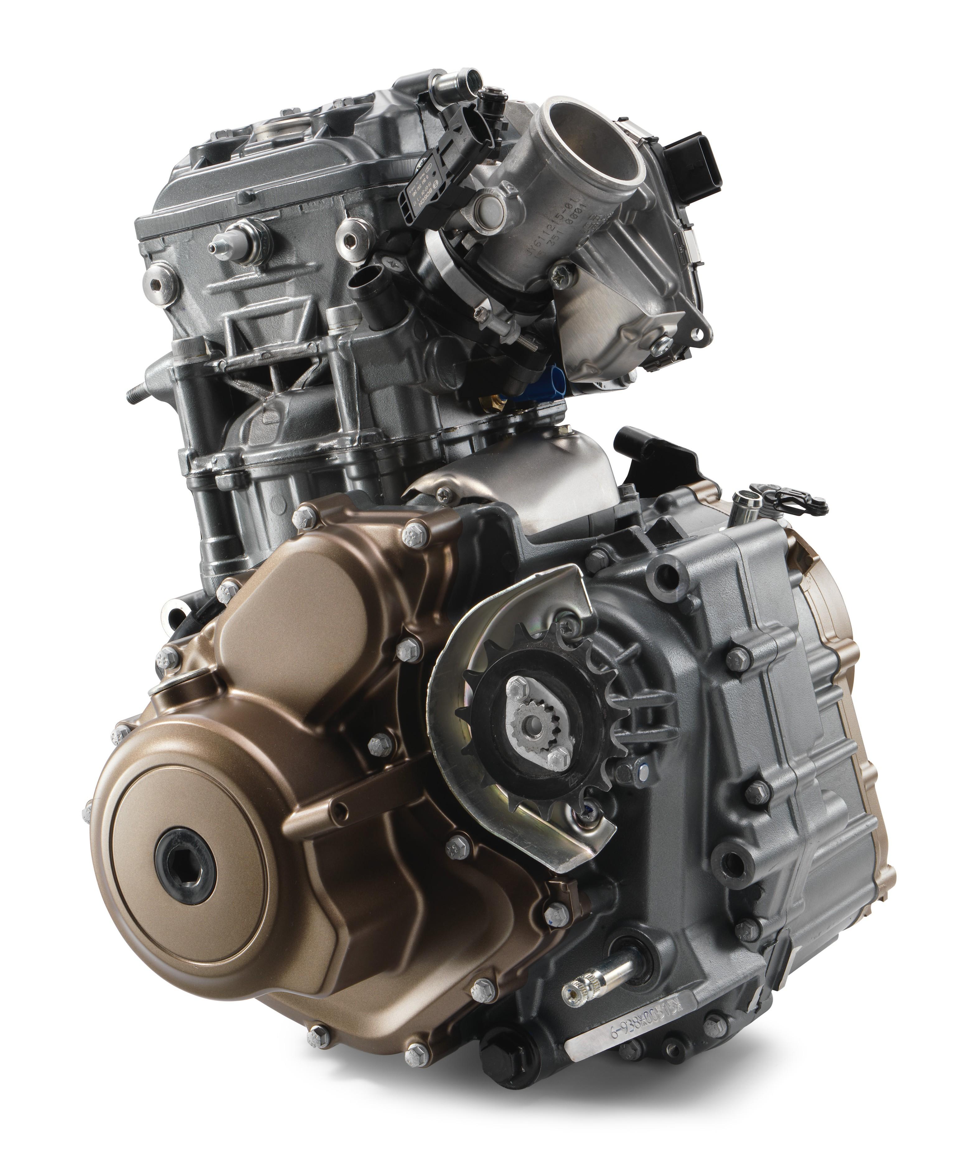 il motore DOHC della nuova creatura Husqvarna