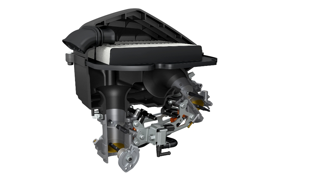 SV650 ABS, il nuovo airbox