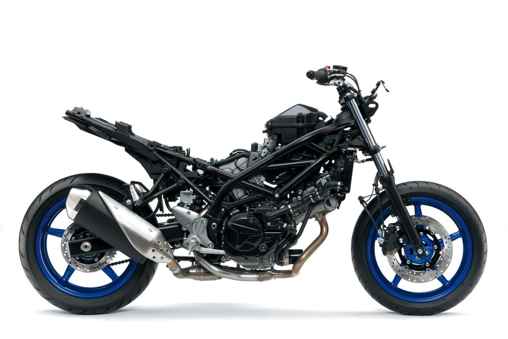 suzuki SV650 ABS, più leggera e potente