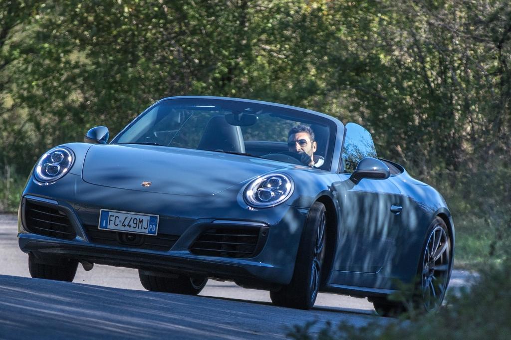 porsche 911 Carrera 4S Cabrio, nuove sensazioni