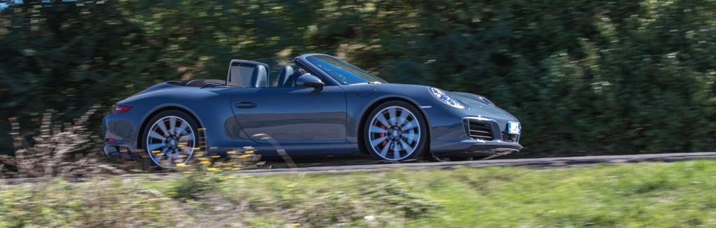 Porsche Carrera 4S Cabrio, 420 Cv di gusto Porsche