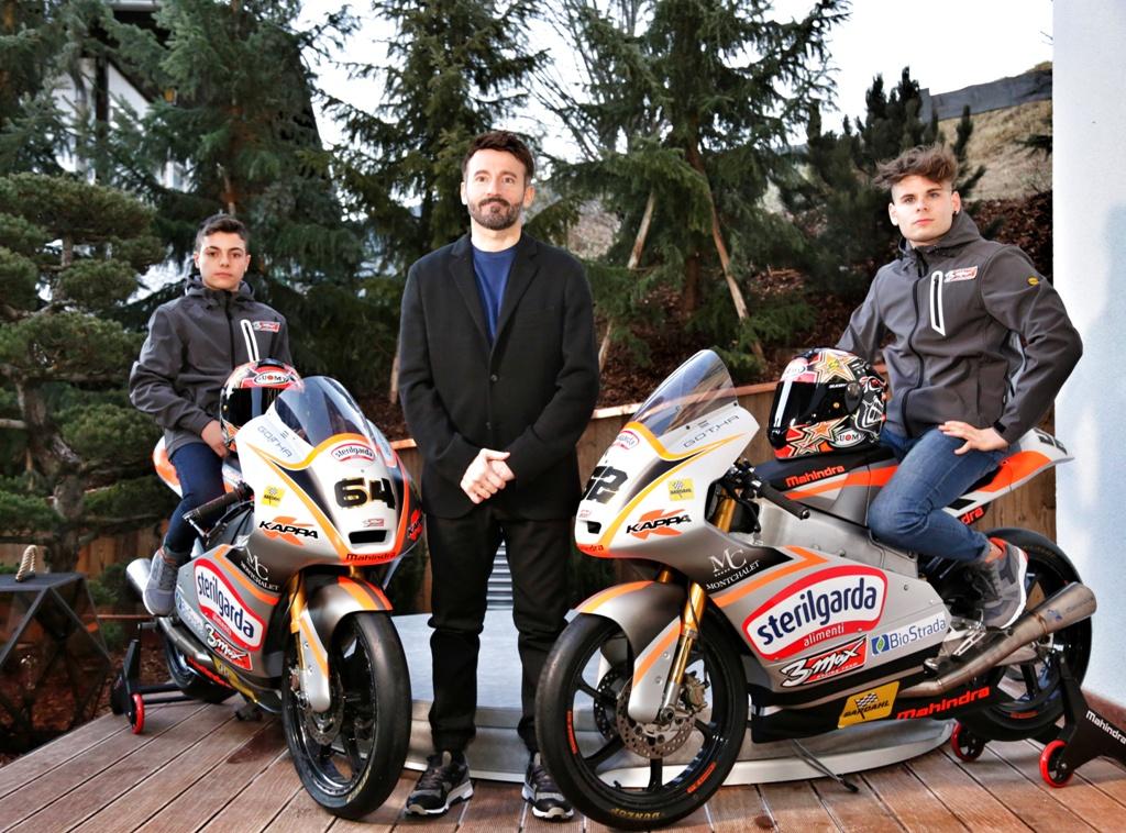 MAX BIAGGI con Baldini e Del Bianco