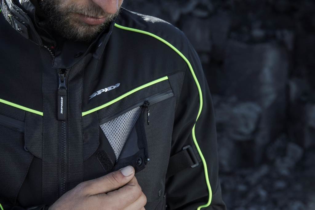 SPIDI, giacca Intercruiser 2017, un capo raffinato