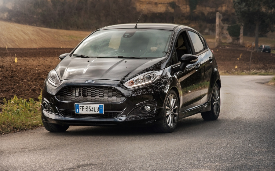 prova ford fiesta st line ecoboost 140 cv performancemag it. Black Bedroom Furniture Sets. Home Design Ideas