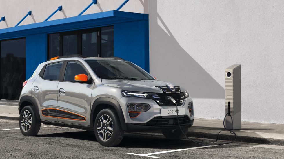 Dacia SPRING 100% ELETTRICA - performancemag.it 2021