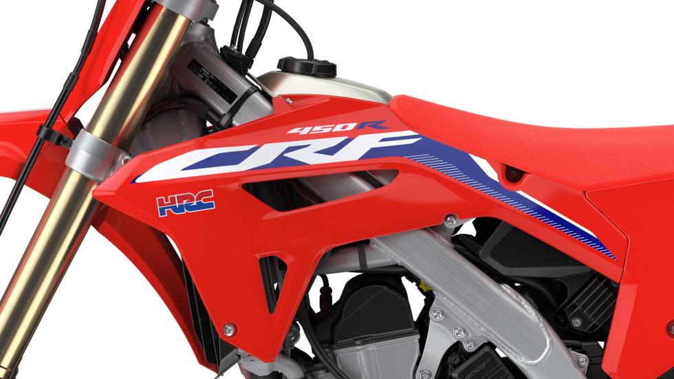 Honda CRF450R la tecnica - performancemag.it 2021